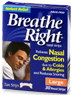 Breathe Right Tan Strips Large 30's