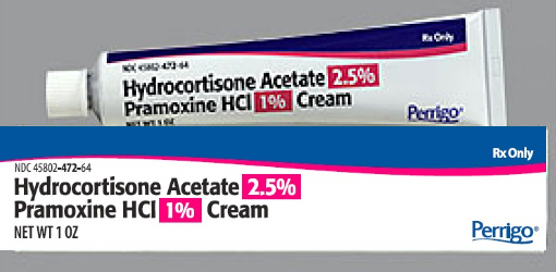Pramoxine Hydrocortisone 1% / 2.5% Cream